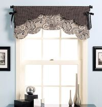 Valances, Curtains for kitchen and Patterns on Pinterest