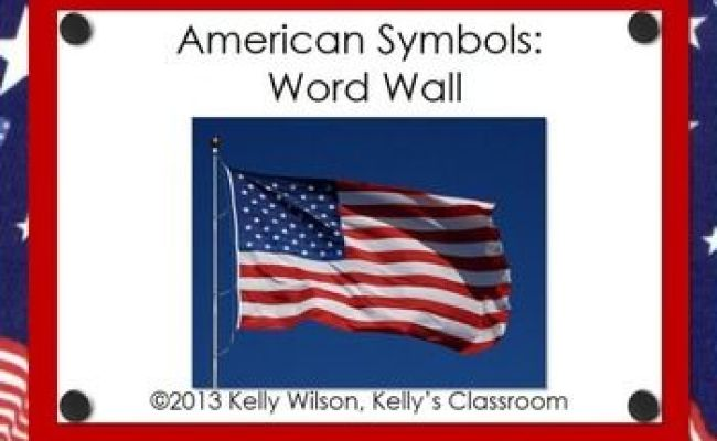 American Symbols Word Wall The O Jays Words And Need To