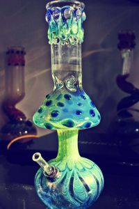 Mushroom Glass Bong | Medical Marijuana Quality Matters ...