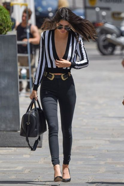 The perfect date night outfit with Kendall Jenner style!