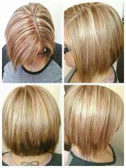 strawberry blonde base color
