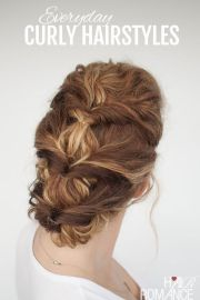 hairstyle tutorials curly hairstyles