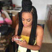 If you ever want to get box braids, I prefer doing it in