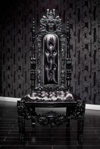 Black Lion Throne Chair | Furniture/Items | Pinterest ...