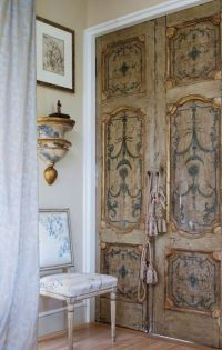European style, Not too shabby and Doors on Pinterest