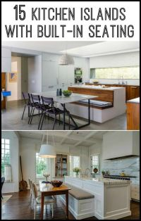 Do you want to have a kitchen island with built-in seating ...