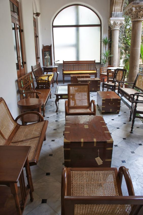 British and West Indies Colonial Furniture  British