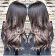 color effect cool tones and brunettes