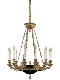 Antique Reproduction Lighting. French Empire 12 Light ...