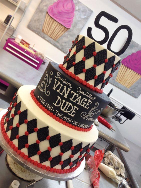 Birthday Cakes Birthdays And 50th Birthday On Pinterest
