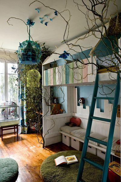 Chambre Denfant Chouette Une Mezzanine Wash Board