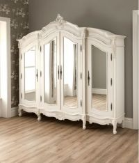 antique french style wardrobe armoire stylish bedroom ...