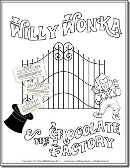 Willy wonka, Chocolate factory and Unit studies on Pinterest