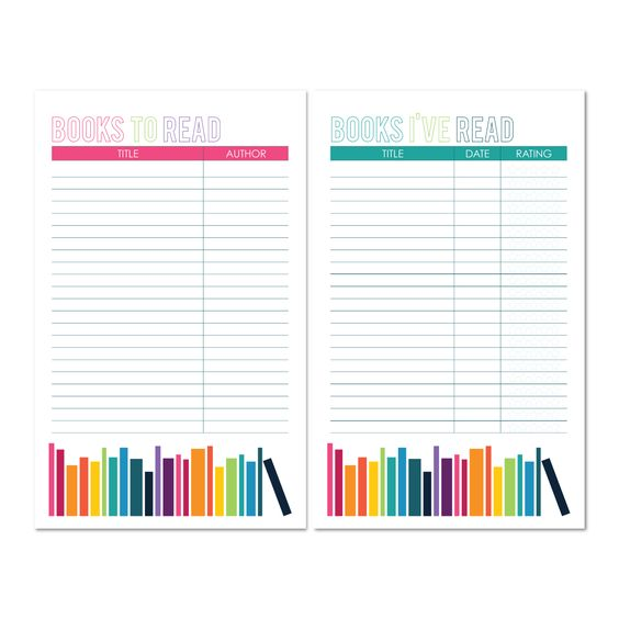 Book Lists Printable Book To Read And Books Ive Read
