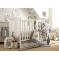 Levtex Baby Night Owl 5 Piece Crib Bedding Set | Babies r ...