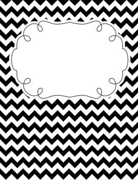 Binder covers, Classroom and Chevron on Pinterest