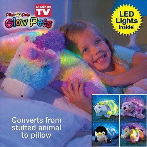 spielzeug pillow pets glow pets plush