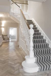 Hall/Edwardian.....love the striped stair carpet | Home ...