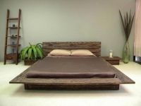 Japanese Inspired Delta Low Profile Platform Bed with ...