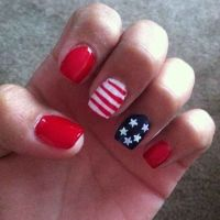 30 Patriotic Nail Art Ideas For The Fourth Of July | July ...