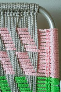 Woven Macram Chair Tutorial