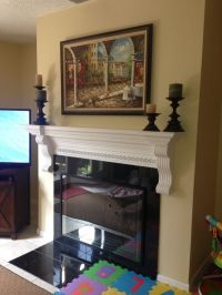 DIY Kid-proofing fireplace screen/cover using inexpensive ...