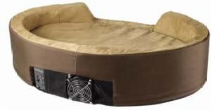 Heated and Air Conditioned Dog Bed