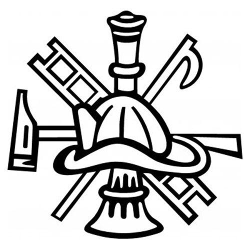 Maltese Cross Stencil