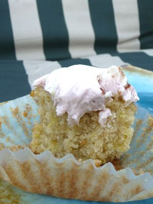 White cupcakes Cassava cake and Cupcake on Pinterest