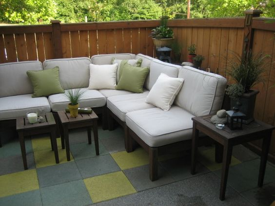 townhouse backyard ideas   Oasis  Patios  Deck