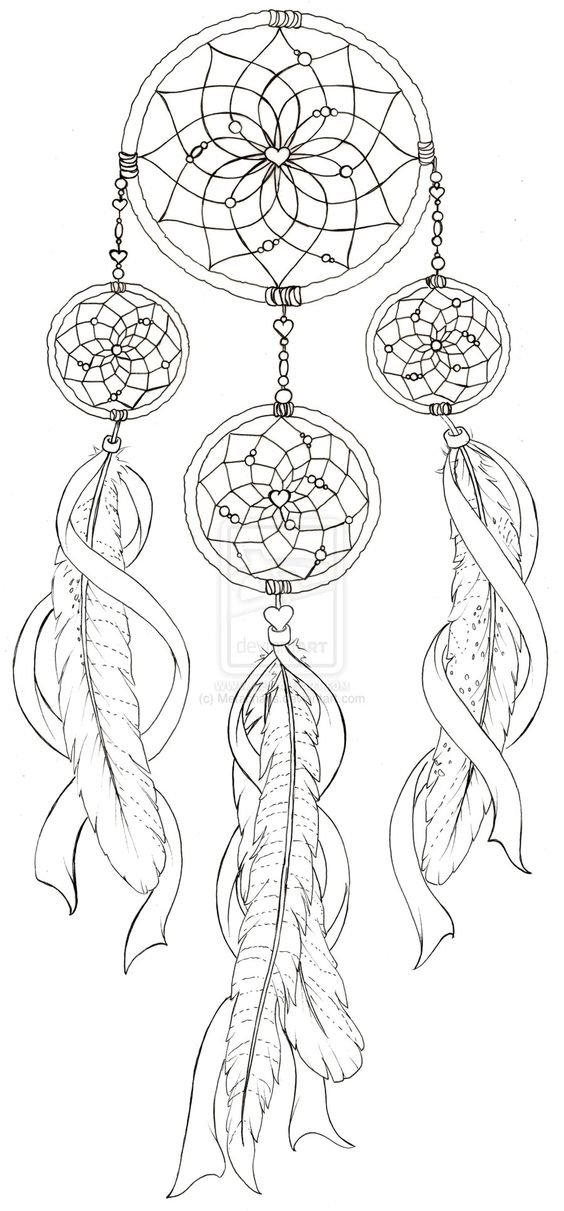 Dream Catcher with Pheasant Feather Tattoo by ~Metacharis
