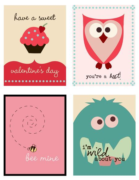 FREE PRINTABLE VALENTINE CARDS and you can use as #labels:
