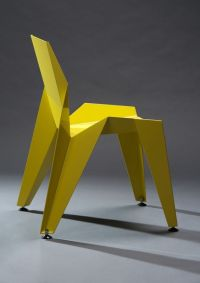 EDGE chair by Novague inspired by origami | sit and stay ...