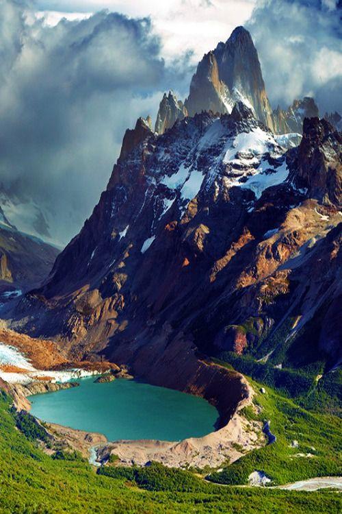 Mount Fitz Roy and laguna Torre, Patagonia, Argentina: