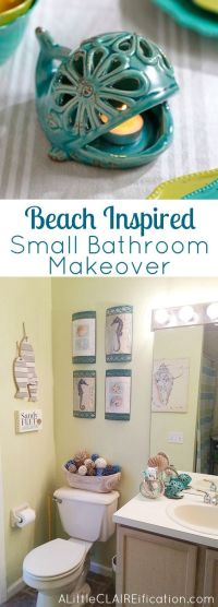 Turquoise, Bathroom beach and Beaches on Pinterest