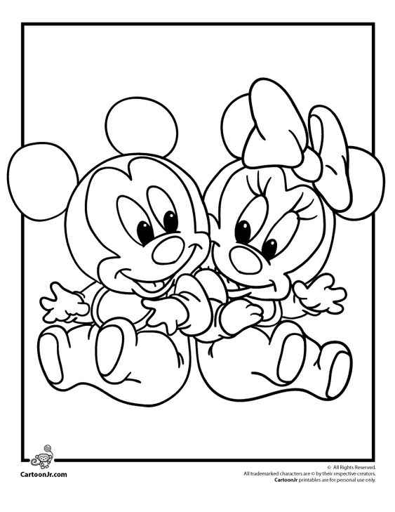 Disney Babies Coloring Pages Disney Babies Coloring Pages