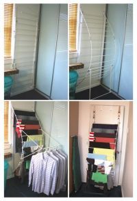 Drying racks, The wall and Laundry on Pinterest