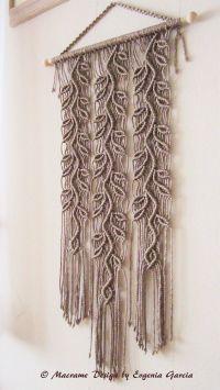 Macrame Wall Hanging - Sprigs #4 - Handmade Macrame Home ...