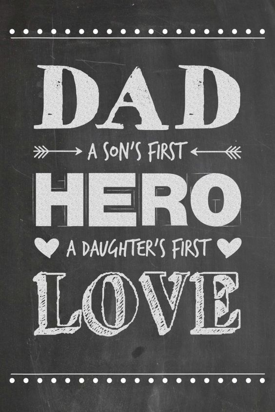 Download Dad - A Son's First Hero, A Daughter's First Love ...