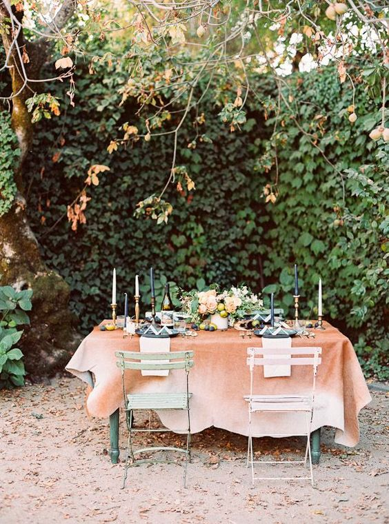 Bohemian jewel toned wedding inspiration: