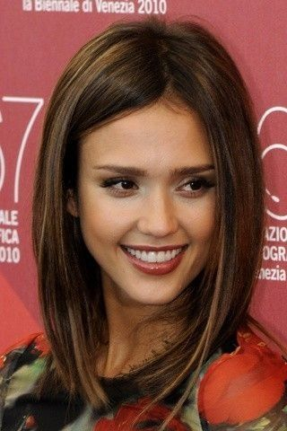 Jessica Alba Long Bobs And Bobs On Pinterest