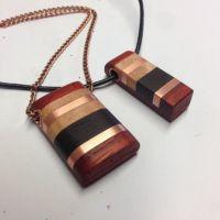 Handmade wooden pendant | Places to Visit | Pinterest ...