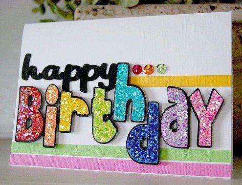 32 Handmade Birthday Card Ideas And Images Diy Birthday