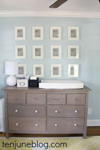 IKEA hemnes dresser - low and deep enough to double as a ...
