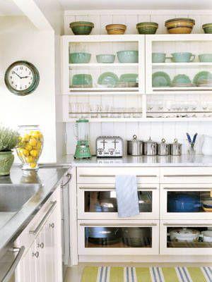 Cucina a vetri: