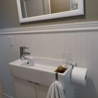 Sinks, Ikea and Narrow bathroom on Pinterest