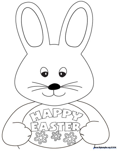 Easter colouring sheet! Print this out to keep kids