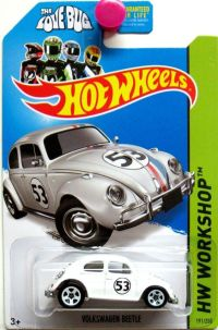 "Volkswagen Beetle ""The Love Bug"" Hot Wheels 2014 HW ..."