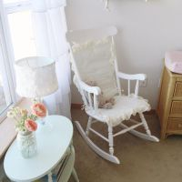 a spring inspired nursery | Rocking chairs, Chairs and ...