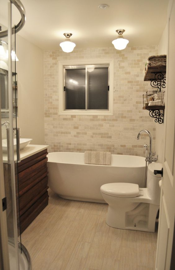 Guest Bathroom Before and After  Beautiful Bathroom